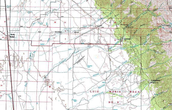 Crestone Area Topo Map In The San Luis Valley Of Colorado